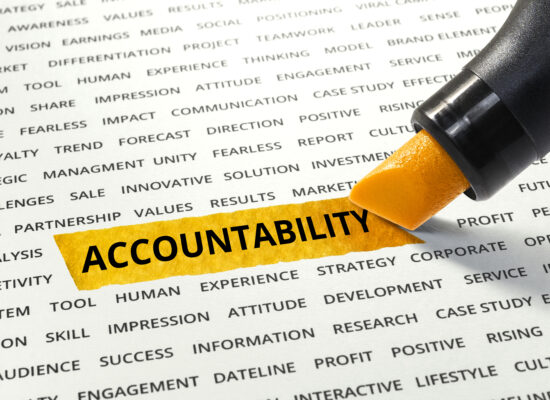 Stepping Up to Leadership by Stepping into Accountability Conversations